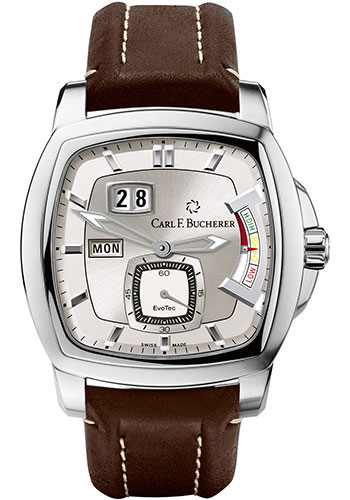 Carl F. Bucherer Watches - Patravi EvoTec PowerReserve Stainless Steel - Style No: 00.10627.08.63.01