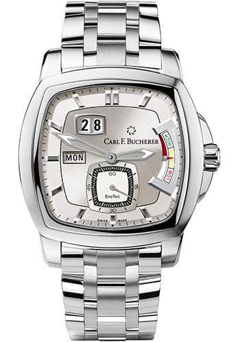 Carl F. Bucherer Watches - Patravi EvoTec PowerReserve Stainless Steel - Style No: 00.10627.08.63.21