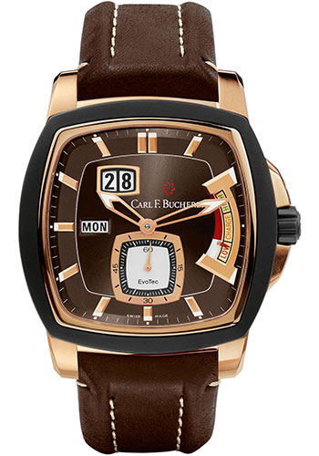 Carl F. Bucherer Watches - Patravi EvoTec PowerReserve Rose Gold - Style No: 00.10627.15.93.01
