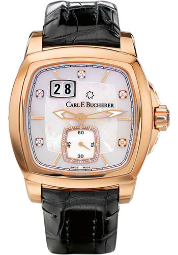 Carl F. Bucherer Watches - Patravi EvoTec BigDate Rose Gold - Style No: 00.10628.03.77.01