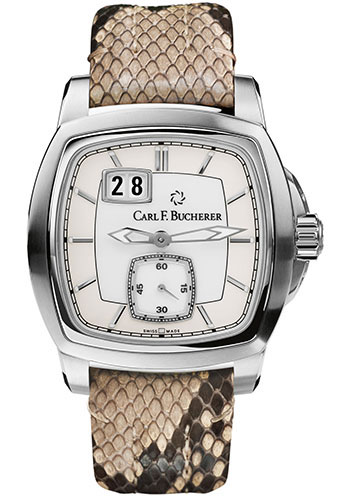 Carl F. Bucherer Watches - Patravi EvoTec BigDate Stainless Steel - Style No: 00.10628.08.23.01