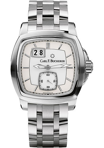 Carl F. Bucherer Watches - Patravi EvoTec BigDate Stainless Steel - Style No: 00.10628.08.23.21