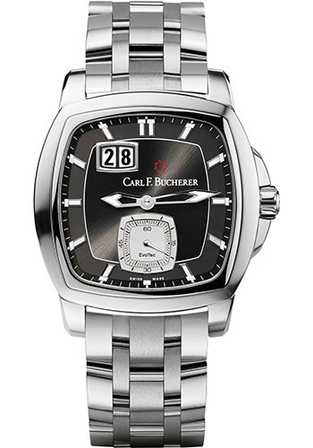 Carl F. Bucherer Watches - Patravi EvoTec BigDate Stainless Steel - Style No: 00.10628.08.33.21