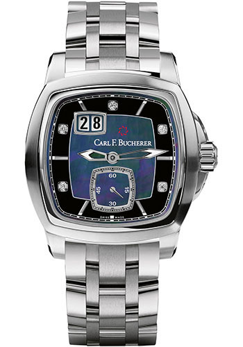 Carl F. Bucherer Watches - Patravi EvoTec BigDate Stainless Steel - Style No: 00.10628.08.87.21