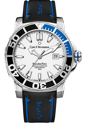 Carl F. Bucherer Watches - Patravi ScubaTec Stainless Steel - Style No: 00.10632.23.23.01