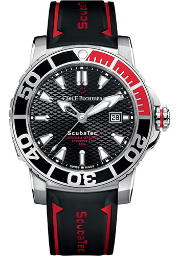 Carl F. Bucherer Watches - Patravi ScubaTec Stainless Steel - Style No: 00.10632.23.33.02
