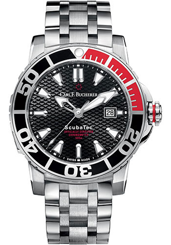 Carl F. Bucherer Watches - Patravi ScubaTec Stainless Steel - Style No: 00.10632.23.33.22
