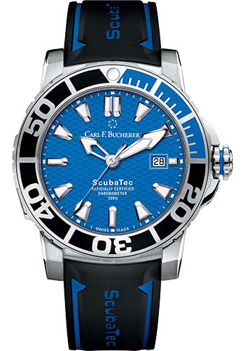Carl F. Bucherer Watches - Patravi ScubaTec Stainless Steel - Style No: 00.10632.23.53.01