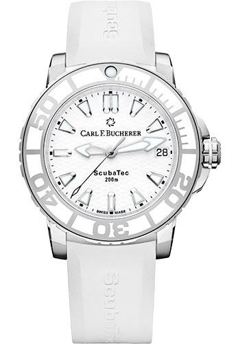Carl F. Bucherer Watches - Patravi ScubaTec Steel and Ceramic - Style No: 00.10634.23.23.01
