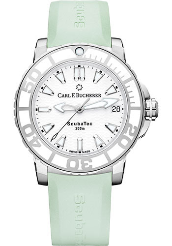 Carl F. Bucherer Watches - Patravi ScubaTec Steel and Ceramic - Style No: 00.10634.23.23.05
