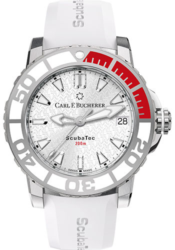 Carl F. Bucherer Watches - Patravi ScubaTec Stainless Steel - Style No: 00.10634.23.23.99
