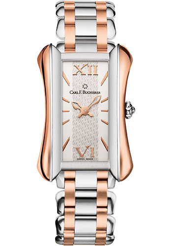 Carl F. Bucherer Watches - Alacria Midi Two Tone - Style No: 00.10701.07.15.21