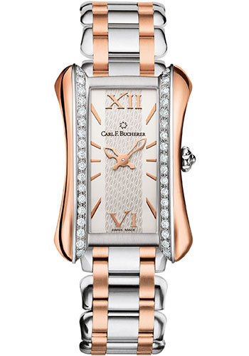 Carl F. Bucherer Watches - Alacria Midi Two Tone - Style No: 00.10701.07.15.31