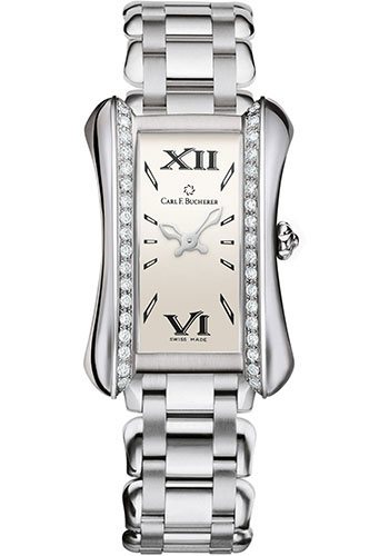 Carl F. Bucherer Watches - Alacria Midi Stainless Steel - Style No: 00.10701.08.15.31