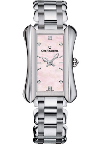 Carl F. Bucherer Watches - Alacria Queen - Stainless Steel - Style No: 00.10701.08.77.21