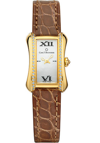 Carl F. Bucherer Watches - Alacria Mini Yellow Gold - Style No: 00.10703.01.71.11