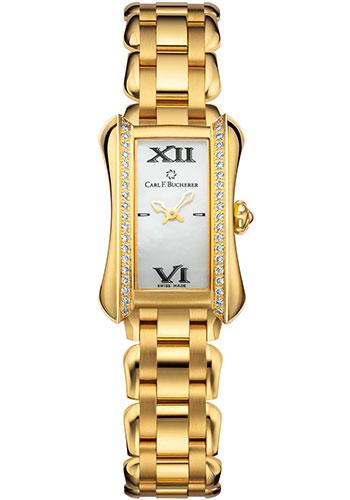 Carl F. Bucherer Watches - Alacria Mini - Yellow Gold - Style No: 00.10703.01.71.31