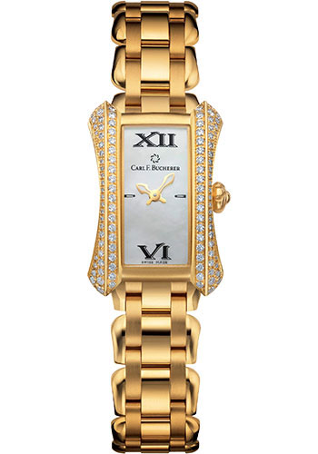 Carl F. Bucherer Watches - Alacria Princess - Yellow Gold - Style No: 00.10703.01.71.32