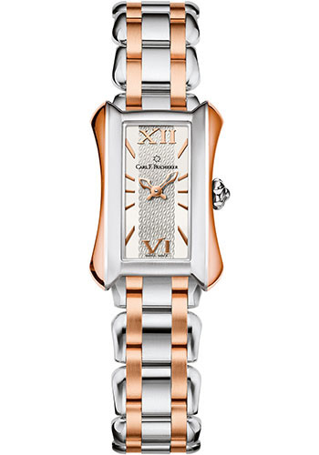Carl F. Bucherer Watches - Alacria Mini Two Tone - Style No: 00.10703.07.15.21