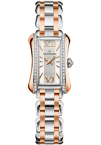 Carl F. Bucherer Watches - Alacria Mini Two Tone - Style No: 00.10703.07.15.31