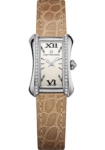 Carl F. Bucherer Watches - Alacria Princess - Stainless Steel - Style No: 00.10703.08.15.11