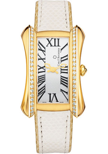 Carl F. Bucherer Watches - Alacria Diva Yellow Gold - Style No: 00.10705.01.21.11