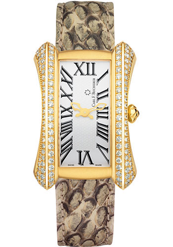 Carl F. Bucherer Watches - Alacria Diva - Yellow Gold - Style No: 00.10705.01.21.12