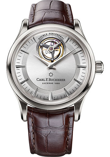 Carl F. Bucherer Watches - Heritage Tourbillon Double Peripheral Watch - Style No: 00.10802.02.13.01