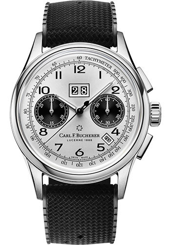 Carl F. Bucherer Watches - Heritage Bicompax Annual Watch - Style No: 00.10803.08.12.01