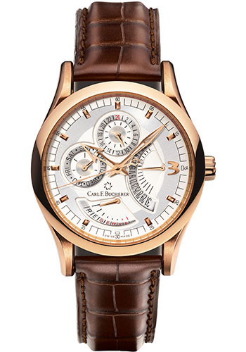 Carl F. Bucherer Watches - Manero RetroGrade Rose Gold - Style No: 00.10901.03.16.01