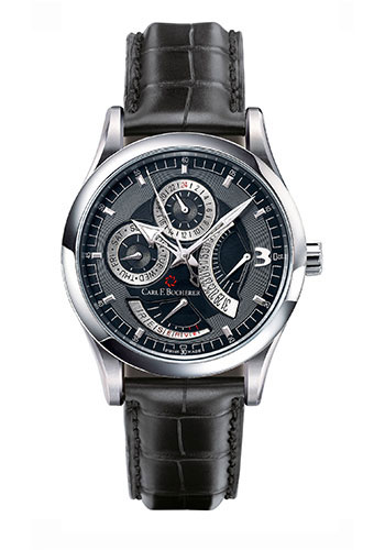Carl F. Bucherer Watches - Manero RetroGrade Stainless Steel - Style No: 00.10901.08.36.01