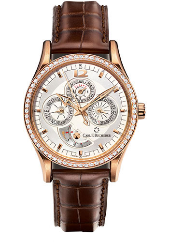 Carl F. Bucherer Watches - Manero Perpetual Rose Gold - Style No: 00.10902.03.16.11