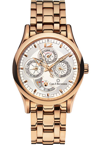 Carl F. Bucherer Watches - Manero Perpetual Rose Gold - Style No: 00.10902.03.16.21
