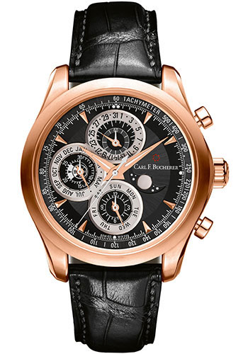 Carl F. Bucherer Watches - Manero ChronoPerpetual Rose Gold - Style No: 00.10906.03.33.01