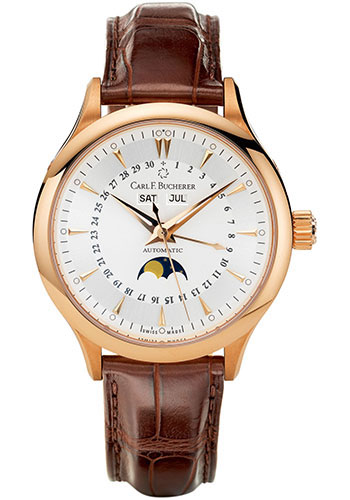 Carl F. Bucherer Watches - Manero MoonPhase Rose Gold - Style No: 00.10909.03.13.01