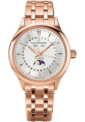 Carl F. Bucherer Watches - Manero MoonPhase Rose Gold - Style No: 00.10909.03.13.21