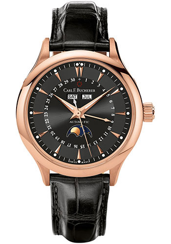 Carl F. Bucherer Watches - Manero MoonPhase Rose Gold - Style No: 00.10909.03.33.01