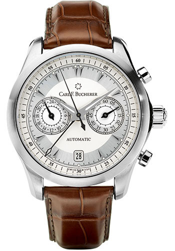 Carl F. Bucherer Watches - Manero CentralChrono Stainless Steel - Style No: 00.10910.08.13.01