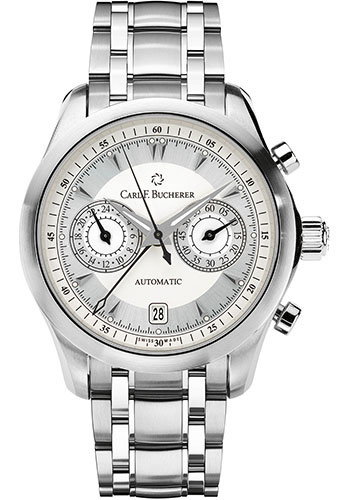 Carl F. Bucherer Watches - Manero CentralChrono Stainless Steel - Style No: 00.10910.08.13.21