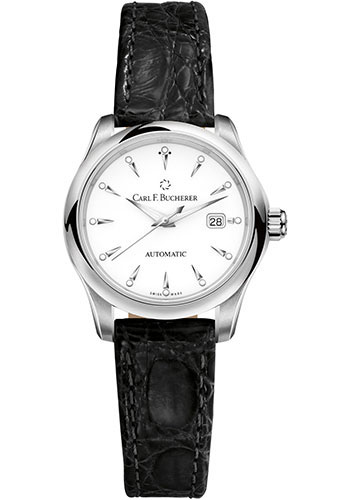 Carl F. Bucherer Watches - Manero AutoDate 30mm - Stainless Steel - Style No: 00.10911.08.23.01