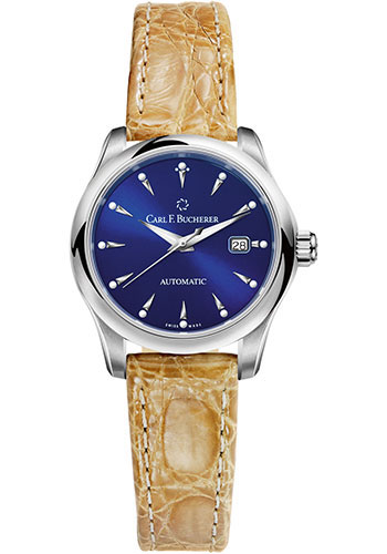 Carl F. Bucherer Watches - Manero AutoDate 30mm - Stainless Steel - Style No: 00.10911.08.53.01