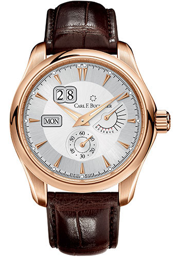Carl F. Bucherer Watches - Manero PowerReserve Rose Gold - Style No: 00.10912.03.13.01