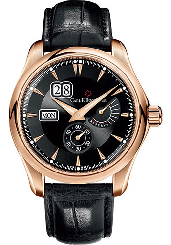 Carl F. Bucherer Watches - Manero PowerReserve Rose Gold - Style No: 00.10912.03.33.01