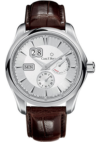 Carl F. Bucherer Watches - Manero PowerReserve Stainless Steel - Style No: 00.10912.08.13.01