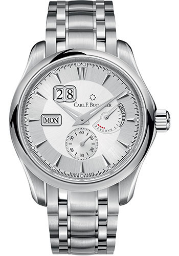 Carl F. Bucherer Watches - Manero PowerReserve Stainless Steel - Style No: 00.10912.08.13.21