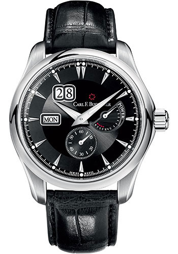 Carl F. Bucherer Watches - Manero PowerReserve Stainless Steel - Style No: 00.10912.08.33.01