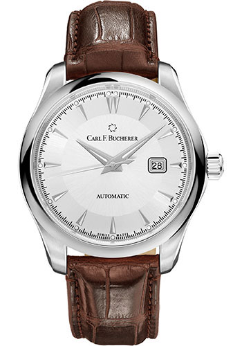Carl F. Bucherer Watches - Manero AutoDate 42mm - Stainless Steel - Style No: 00.10915.08.13.01