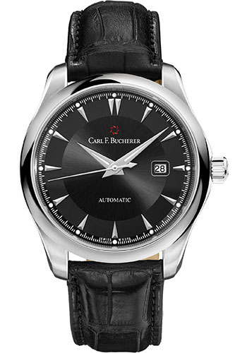 Carl F. Bucherer Watches - Manero AutoDate 42mm - Stainless Steel - Style No: 00.10915.08.33.01