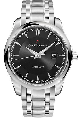 Carl F. Bucherer Watches - Manero AutoDate 42mm - Stainless Steel - Style No: 00.10915.08.33.21