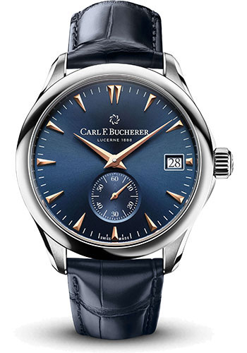 Carl F. Bucherer Watches - Manero Peripheral Stainless Steel - Style No: 00.10917.08.53.88